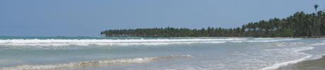Strand in der Dominikanischen Republik